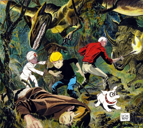 Jonny Quest by Doug Wildey.  Source.