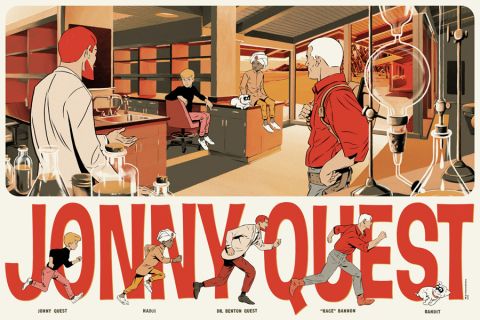 Jonny Quest by Mondo.  Source.