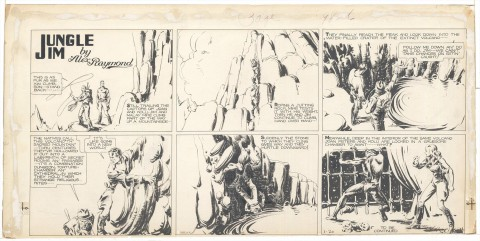 Jungle Jim 01-20-1935 by Alex Raymond