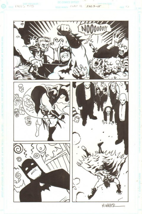 Legends Of The Dark Knight issue 30 page 15 by Matt Wagner.  Source.