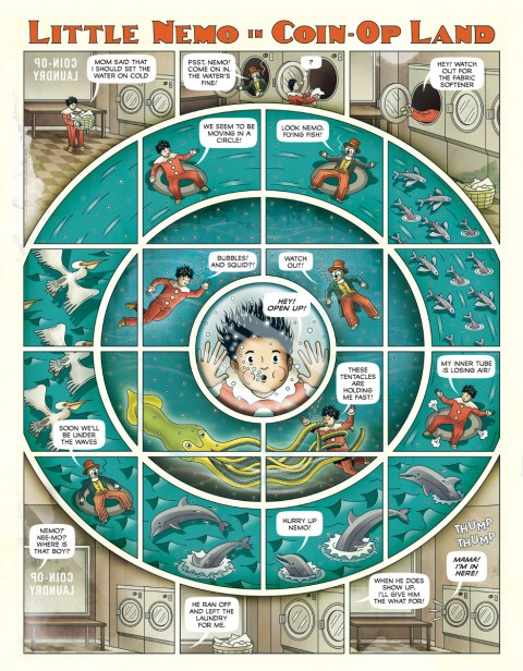 Little Nemo Dream Another Dream interior 3