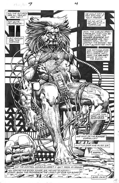 Marvel Comics Presents Weapon-X page by Barry Windsor-Smith.  Source.