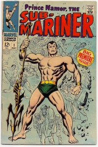 Prince Namor Sub-Mariner 1