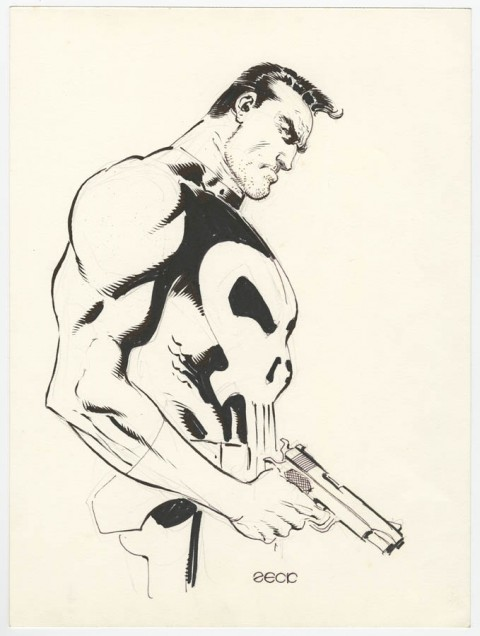 Punisher by Mike Zeck.  Source.
