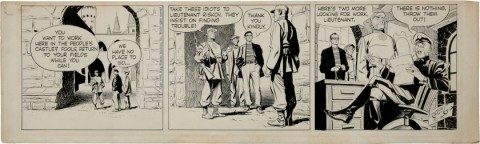 Rip Kirby Daily 10-20-54 by Alex Raymond.  Source.