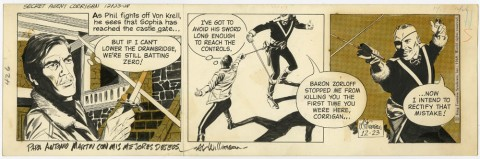 Secret Agent Corrigan 12-23-1968 by Al Williamson.  Source.