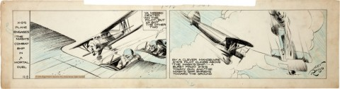 Secret Agent X-9 Daily 12-8-34 by Alex Raymond.  Source.