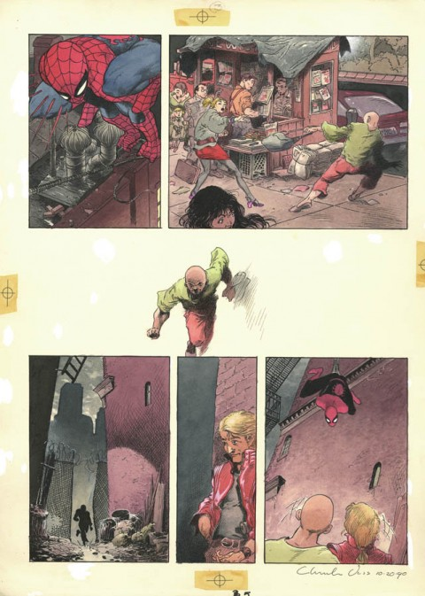 Spider-Man: Spirits Of The Earth page 5 by Charles Vess.  Source.