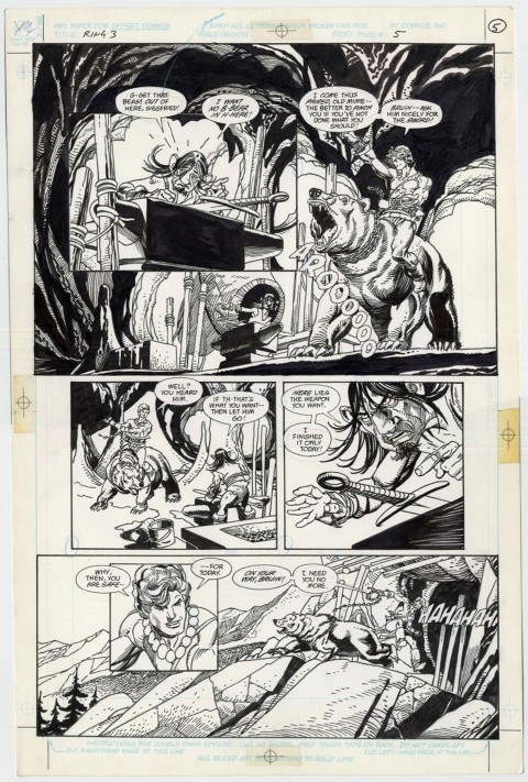 The Ring Of The Nibelung issue 3 page 5 by Gil Kane