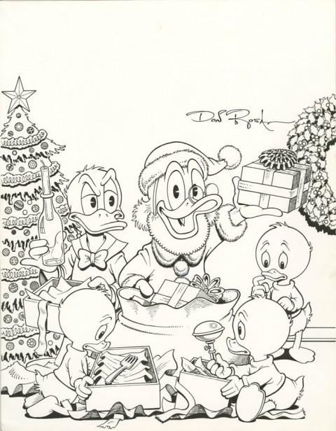 Walt Disney's Uncle Scrooge And Donald Duck issue 2 cover by Don Rosa.  Source.