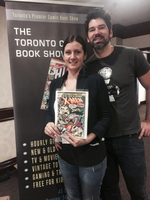 Grand Prize winners from the December 7th show... the highly coveted X-Men #94!