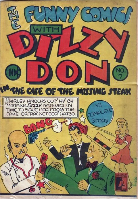 The common copy of The Funny Comics No. 7