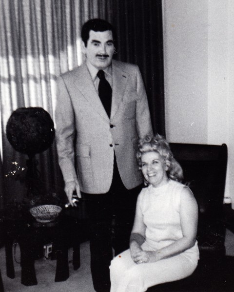 Manny with Phyllis in the late sixties.