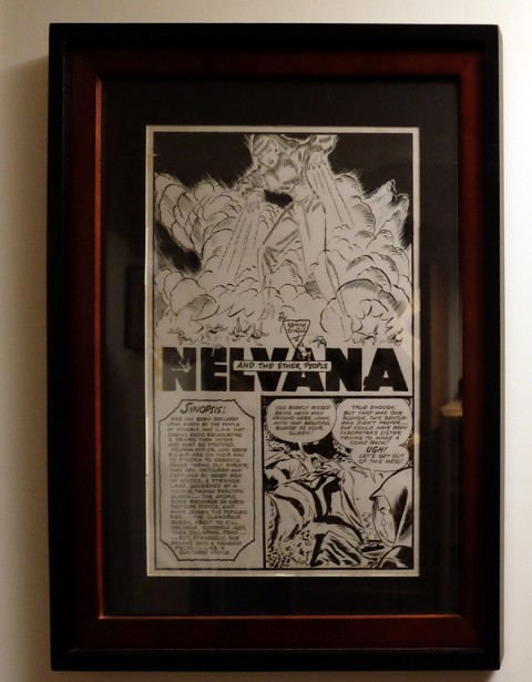 Stephen's Dingle Nelvana splash from Triumph Comics No. 29