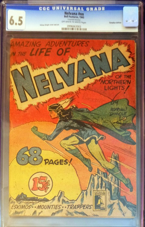 Stephen's Nelvana one-shot