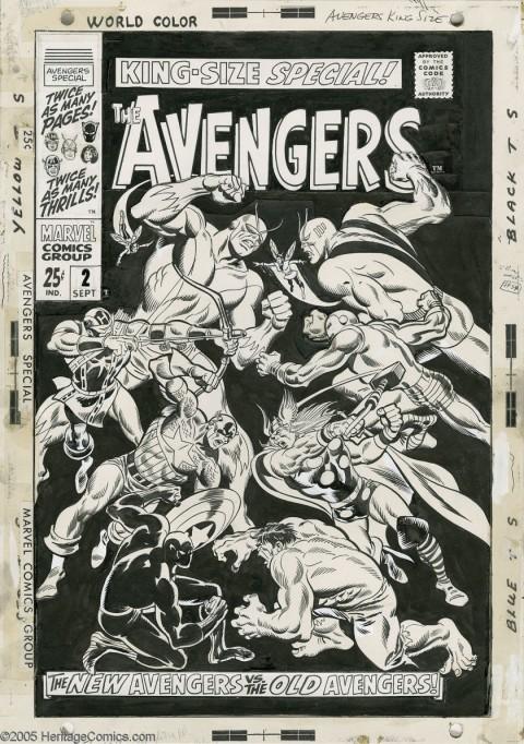 Avengers Annual 2 by John Buscema
