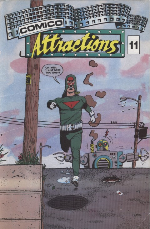 Comico Attractions 11 Page 1