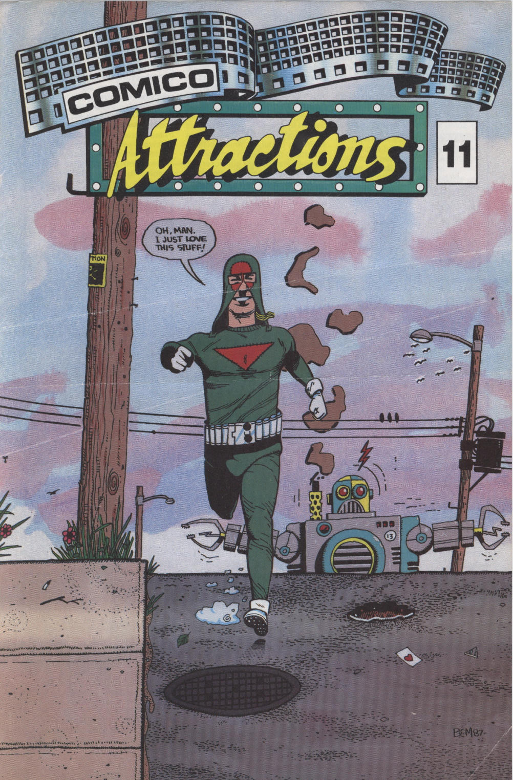 Time Capsule: Comico Attractions 11, 1988
