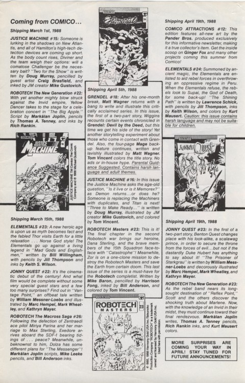 Comico Attractions 11 Page 3