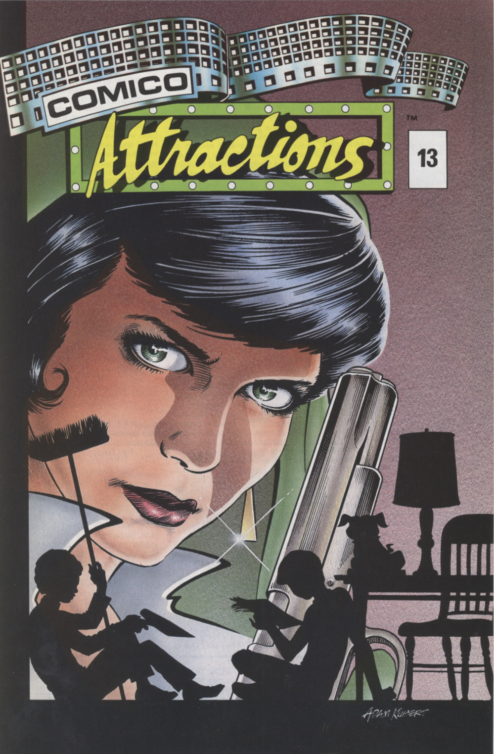 Time Capsule: Comico Attractions 13, 1988