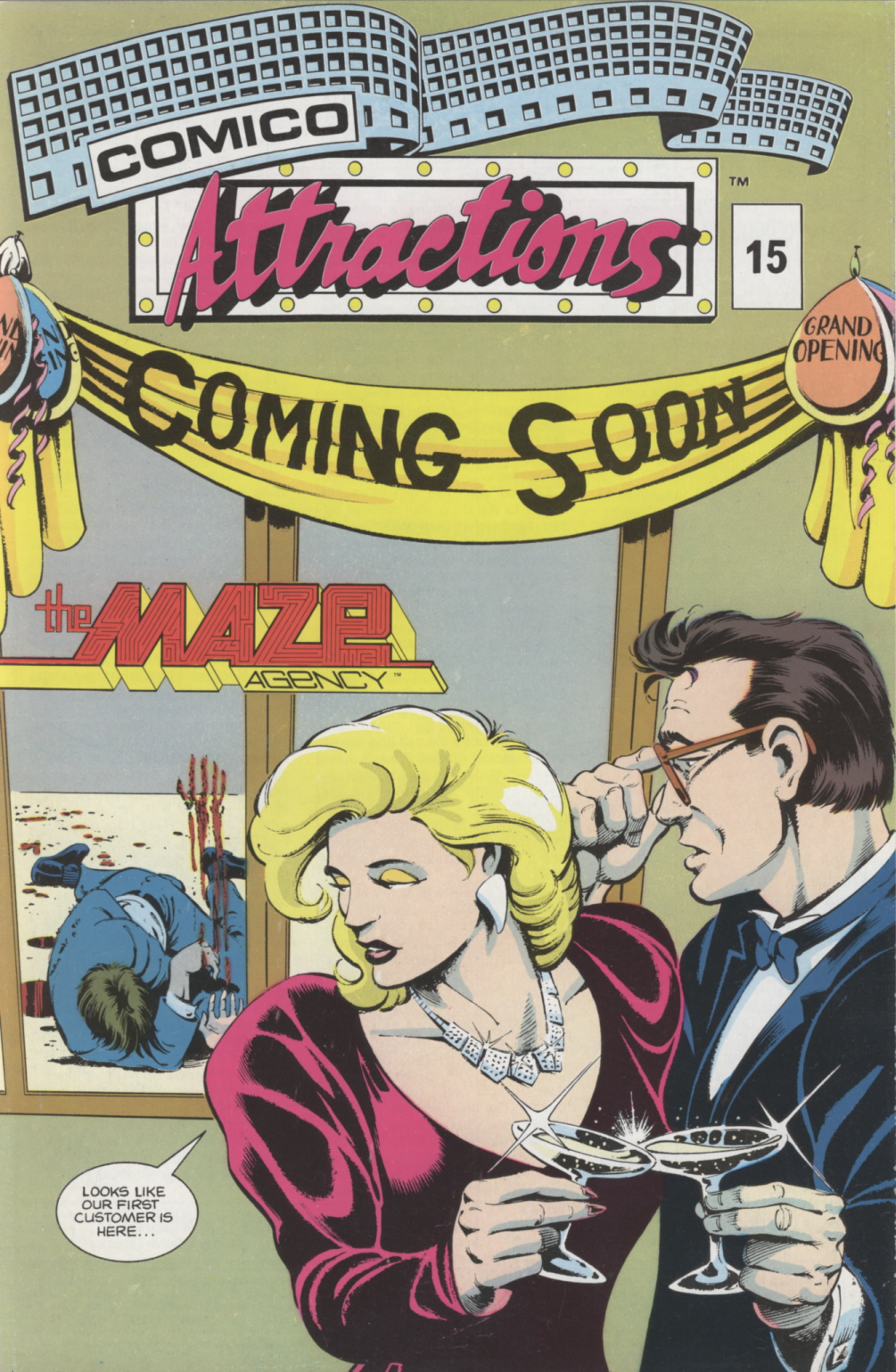 Time Capsule: Comico Attractions 15, 1988