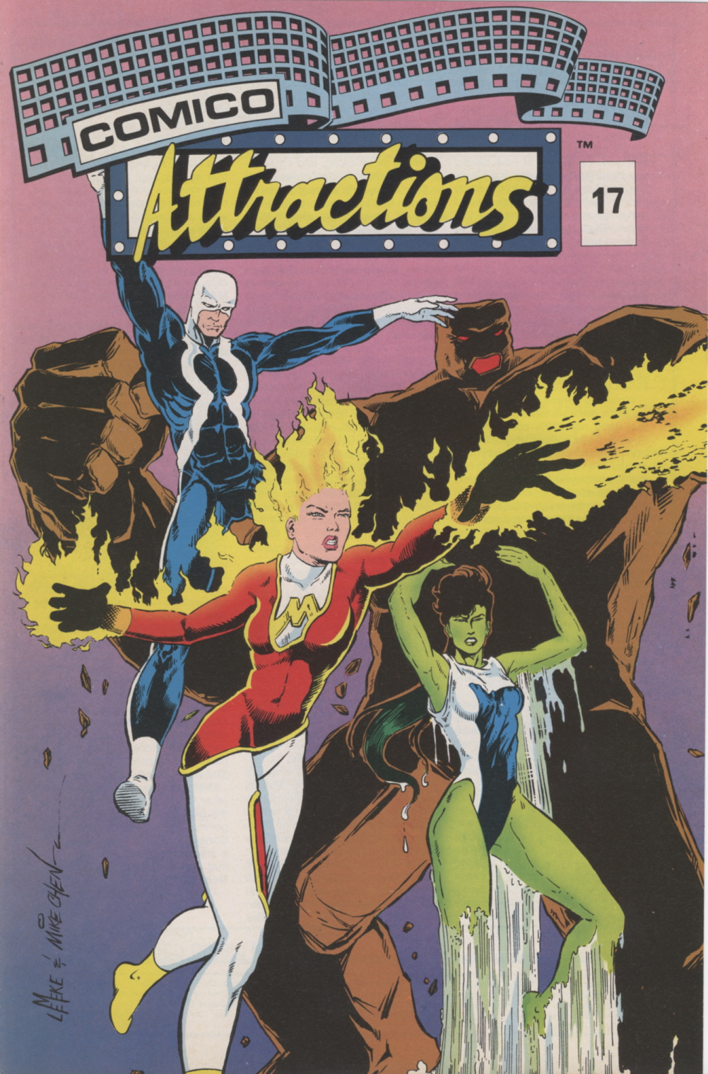 Time Capsule: Comico Attractions 17, 1989