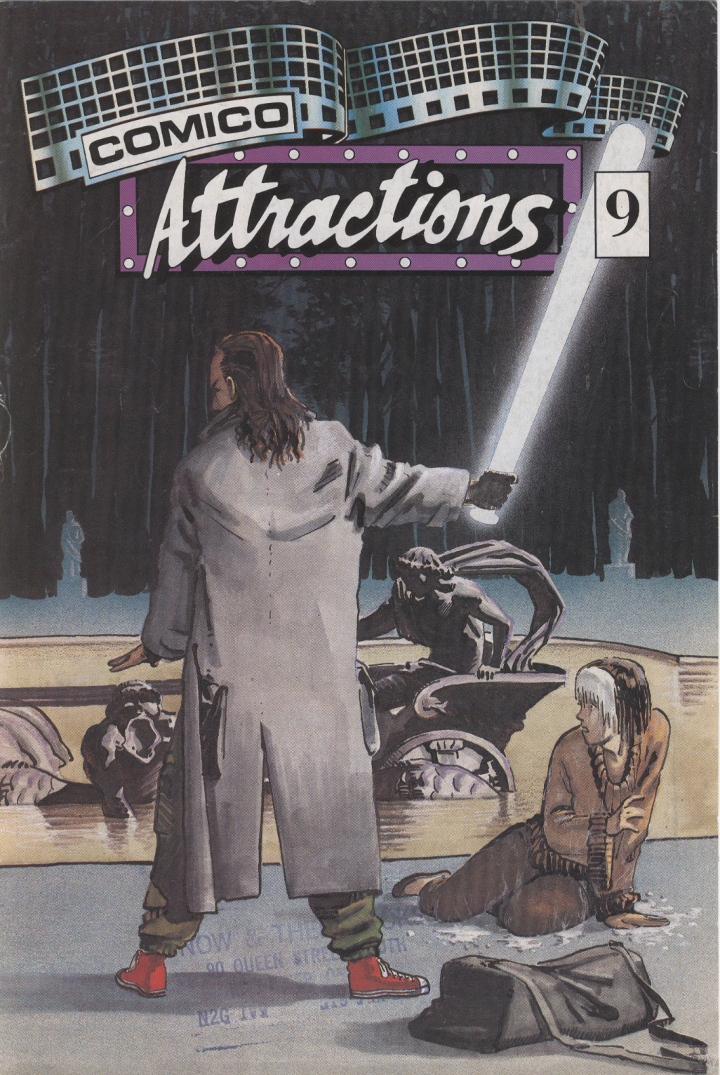 Time Capsule: Comico Attractions 9, 1987