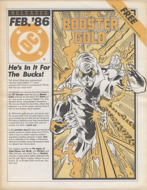 DC Releases Feb '86 Page 1