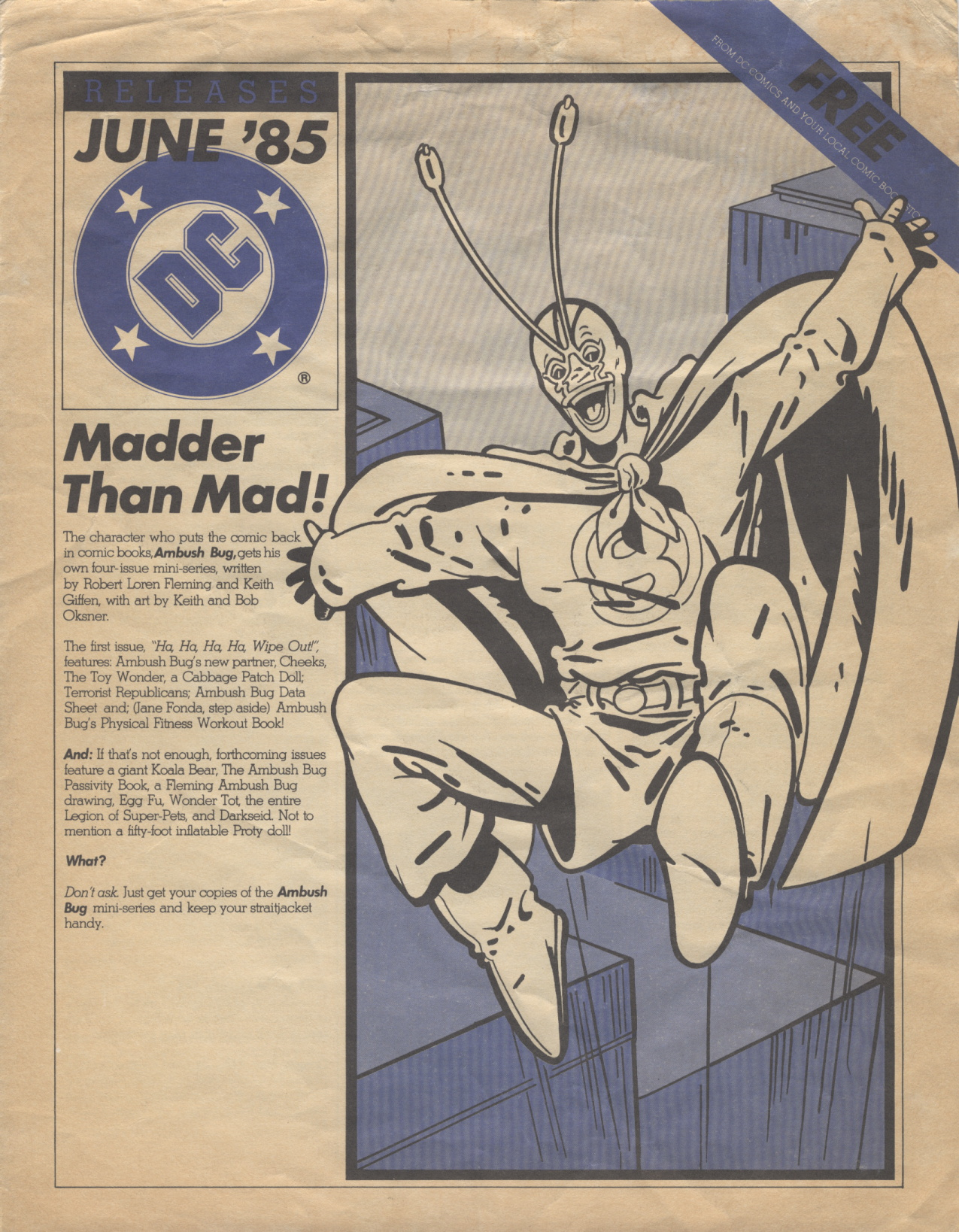 Time Capsule: DC Releases June '85