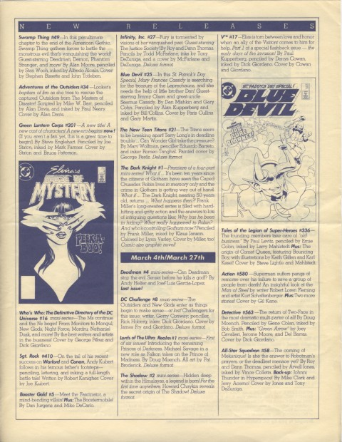 DC Releases June '86 Page 3