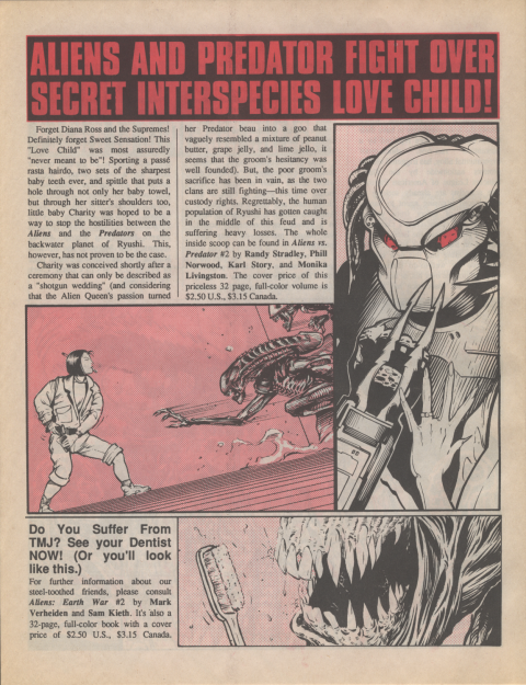 Dark Horse Insider August 1990 page 4