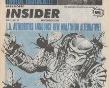 Time Capsule: Dark Horse Insider December 1990