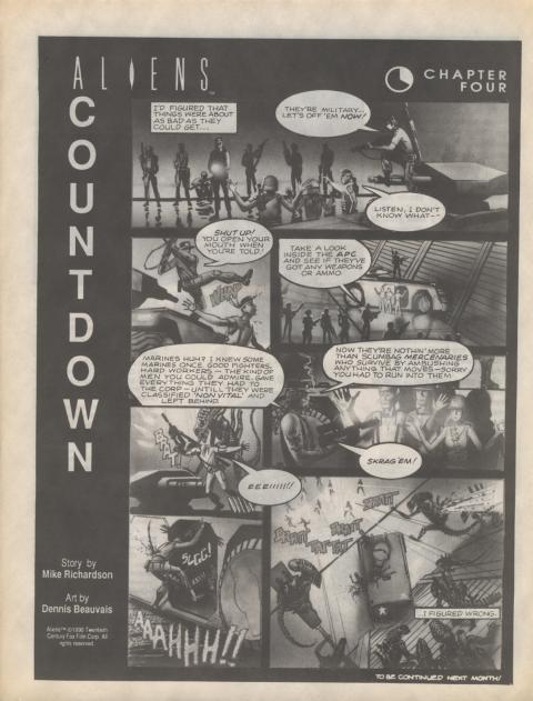 Dark Horse Insider December 1990 page 7