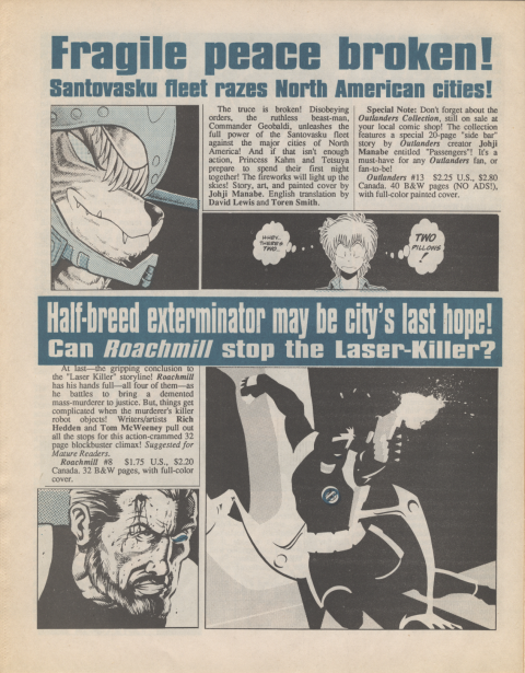Dark Horse Insider January 1990 page 6