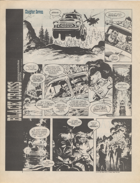 Dark Horse Insider January 1990 page 7