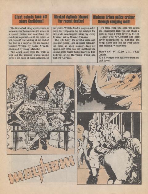 Dark Horse Insider September 1989 page 4
