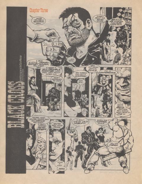 Dark Horse Insider September 1989 page 7