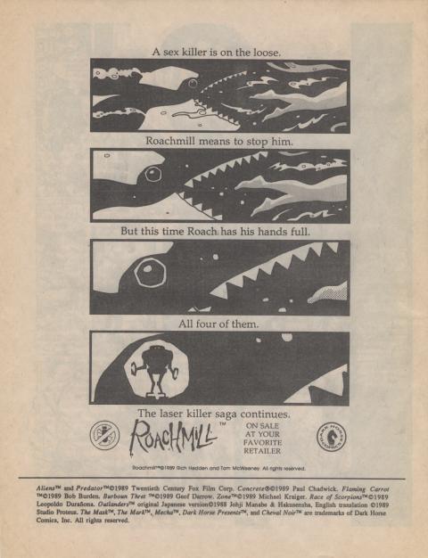 Dark Horse Insider September 1989 page 8