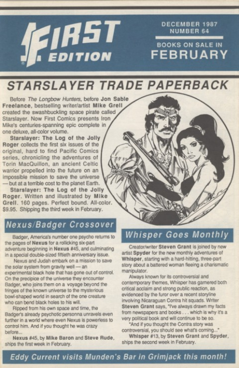 First Edition 64 December 1987 Page 1
