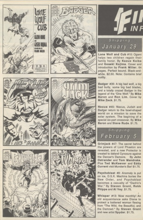 First Edition 64 December 1987 Page 3