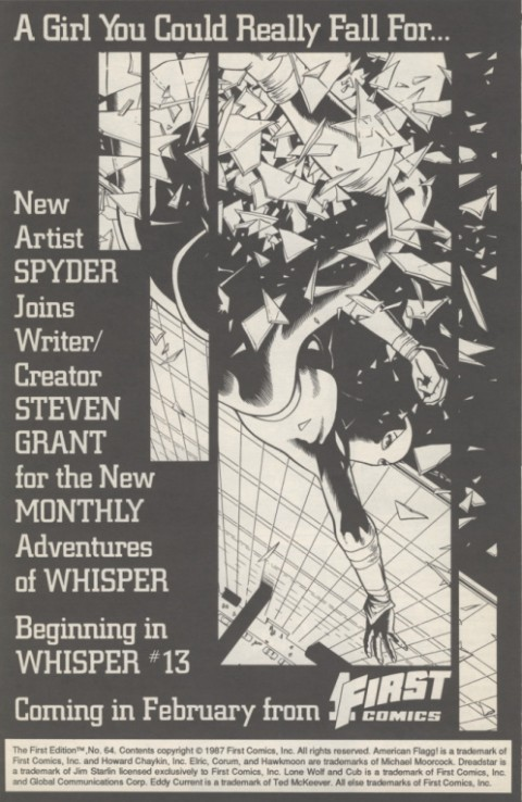 First Edition 64 December 1987 Page 6