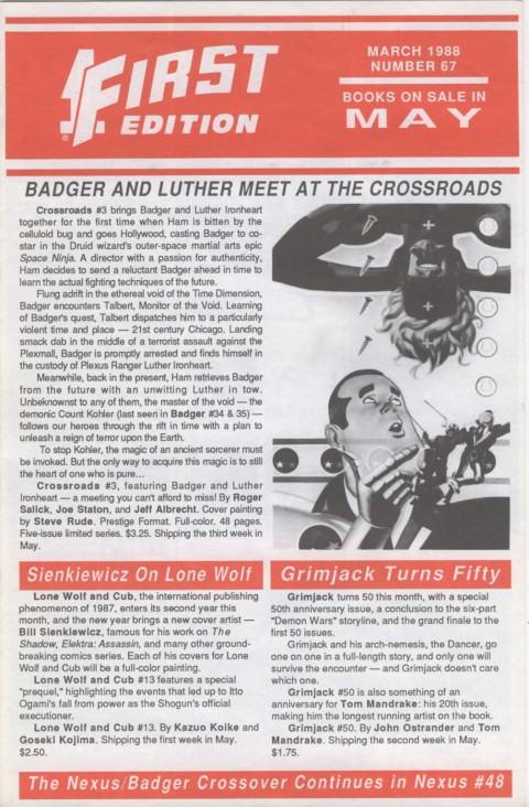 First Edition March 1988 Page 1
