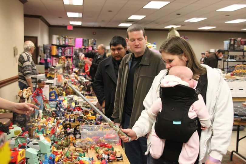 January 2015 Burlington Toy Show