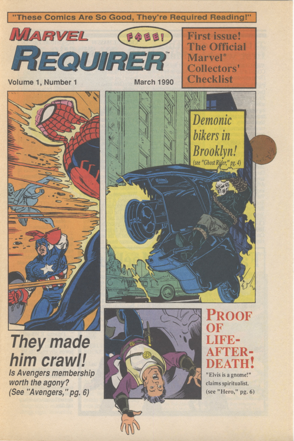 Time Capsule: Marvel Requirer 1, March 1990