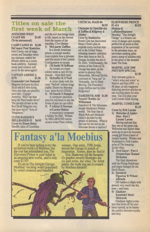 Marvel Requirer 1 March 1990 Page 2
