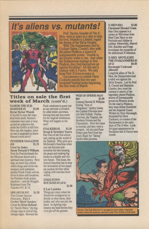 Marvel Requirer 1 March 1990 Page 3