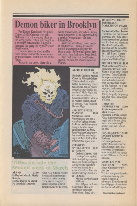 Marvel Requirer 1 March 1990 Page 4