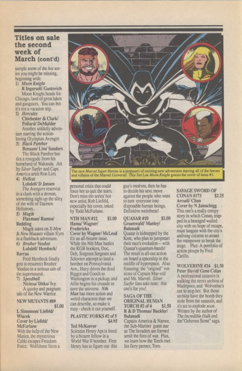 Marvel Requirer 1 March 1990 Page 5