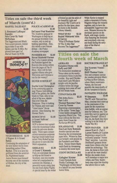 Marvel Requirer 1 March 1990 Page 7
