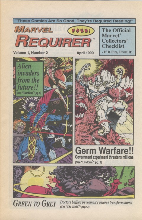Marvel Requirer 2 April 1990 Page 1
